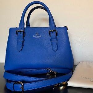 Kate Spade blue Cove Street Provence handbag